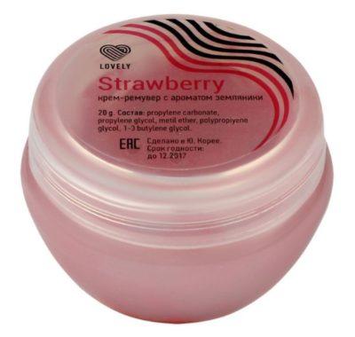 Крем-ремувер Lovely Strawberry с ароматом земляники (20 г)