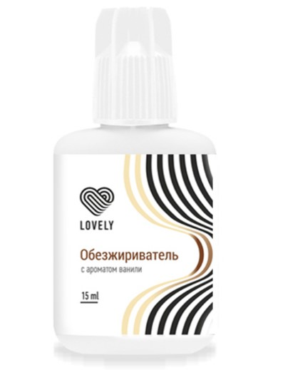 Обезжириватель Lovely с ароматом ванили (15 мл)
