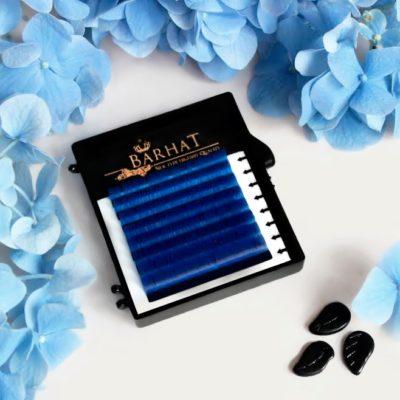Ресницы Barhat цветные (MIX) мини планшет 8 лент
