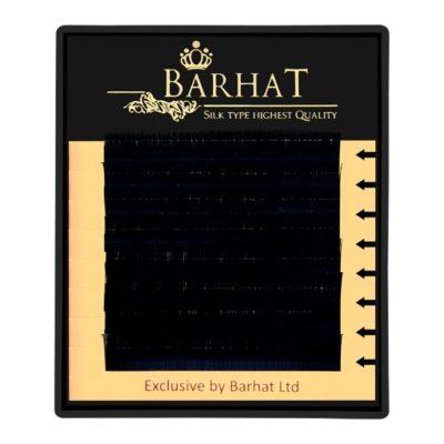 Ресницы Barhat черные мини планшет 8 лент