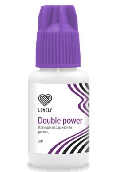 Клей чёрный Lovely Double Power (5 мл)