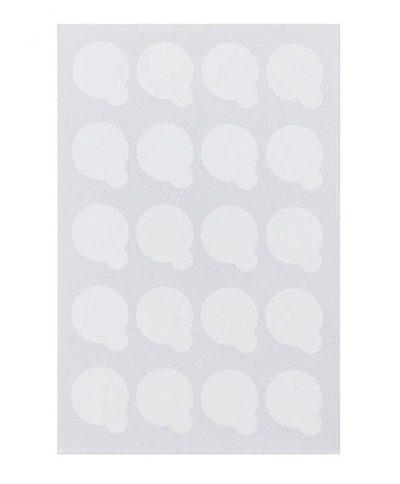 Одноразовая наклейка под клей (лист)