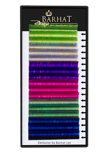 Ресницы Barhat цветные (MIX 3)