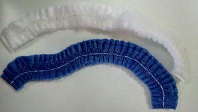Шапочки (белая, голубая)