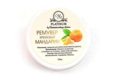 Кремовый ремувер Platinum Мандарин 15 г